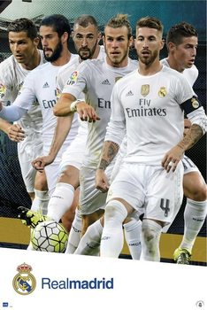 Poster Real Madrid 2015/2016 - Grupo accion