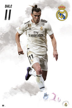 Póster Real Madrid 2018/2019 - Bale