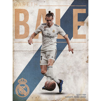 Real Madrid - Bale Kunstdruk