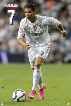 Real Madrid - Cristiano Ronaldo 15/16 Poster / Kunst Poster