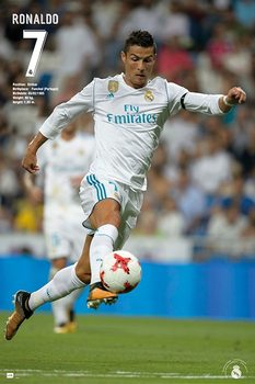 Póster  Real Madrid - Ronaldo 2017/2018
