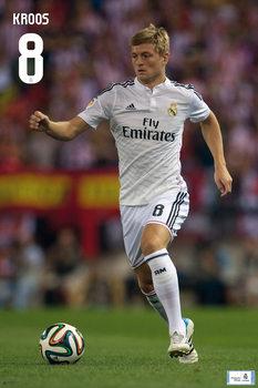 Póster Real Madrid - Toni Kross