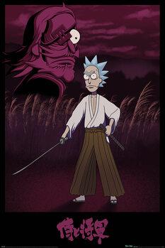 Poster Rick and Morty - Samurai Rick