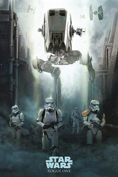 Póster Rogue One: Una Historia de Star Wars - Stormtrooper Patrol
