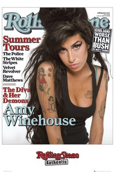 Poster Rolling Stone - Amy Winehouse
