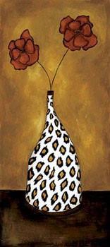 Safari Floral II Kunstdruk