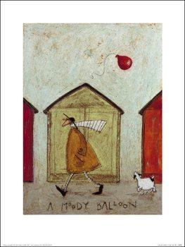 Sam Toft - A Moody Balloon Kunstdruk