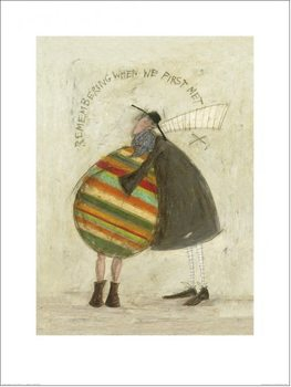 Sam Toft - Remembering When We First Met Kunstdruk