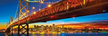 Poster San Francisco - bridge