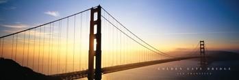 Poster San Francisco - golden gate bridge