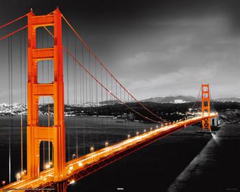 Poster San Francisco - golden gate
