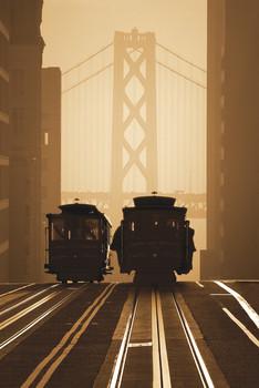 Poster San Francisco - tram 2