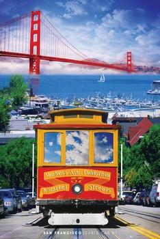 Poster San Francisco - tram