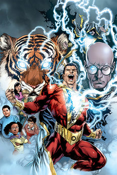 Póster  Shazam - The Power of Shazam