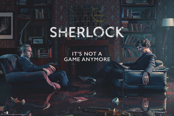 Póster  Sherlock - Rising Tide