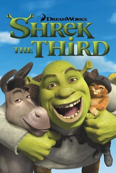 Poster Shrek 3 - friends
