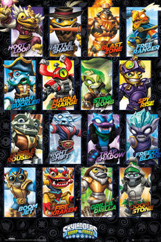 Póster Skylanders swap force - Swappable Characters