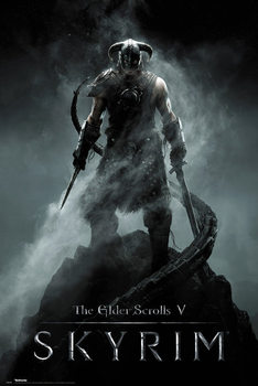 Poster Skyrim - Dragonborn