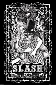 Póster Slash - skeleton