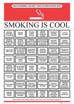 Poster Smoking is cool