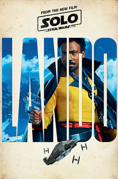 Póster  Solo: A Star Wars Story - Lando Teaser