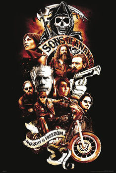 Poster Sons of Anarchy - Anarchy is Freedom