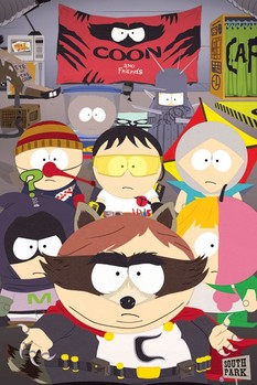 Póster SOUTH PARK - coon and friends