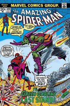 Poster Spider-Man - green goblin
