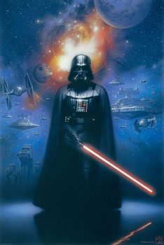 STAR WARS - darth vader Poster / Kunst Poster