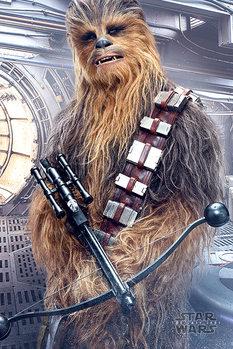 Poster Star Wars: Die letzten Jedi- Chewbacca Bowcaster