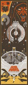 Poster Star Wars: Episod I - Det mörka hotet