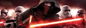 Poster Star Wars: Episode VII – Das Erwachen der Macht - Kylo Ren & Stormtroopers