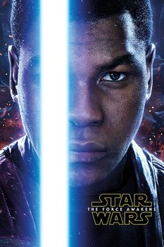 Póster Star Wars Episode VII: The Force Awakens - Finn Teaser