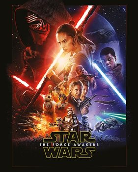 Póster Star Wars Episode VII: The Force Awakens - One Sheet