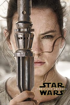 Póster  Star Wars Episode VII: The Force Awakens - Rey Teaser