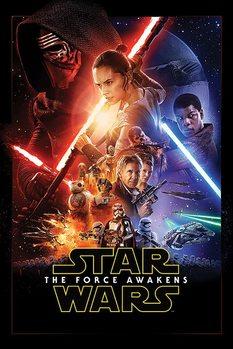 Póster Star Wars Episodio VII: El despertar de la fuerza