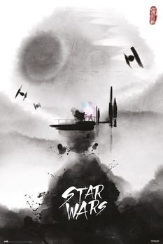Póster  Star Wars - Ink