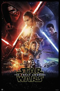 Póster  Star Wars VII - One Sheet