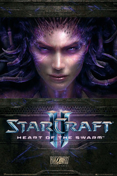 Starcraft 2 - heart of the swarm Poster