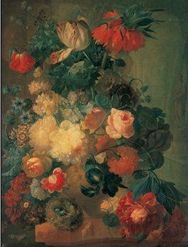 Still Life with Flowers Kunstdruk