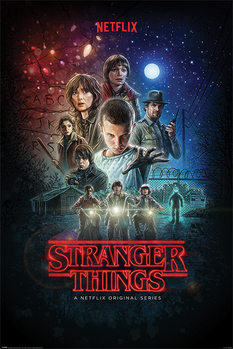 Póster  Stranger Things - One Sheet