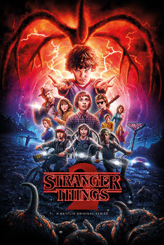 Poster Stranger Things - One Sheet Season 2