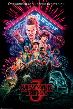 Póster  Stranger Things - Summer of 85
