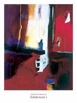 Subdivision I Poster / Kunst Poster