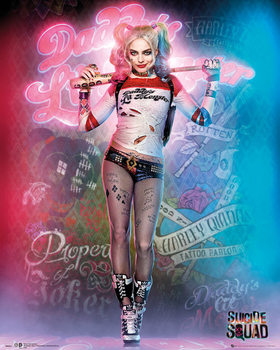 Poster Suicide Squad - Harley Quinn Stand