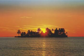 Poster Sunny island