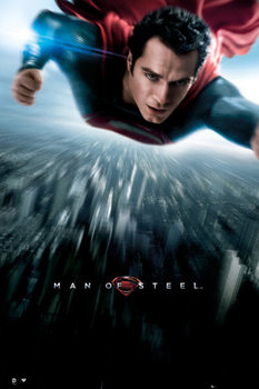 Poster  SUPERMAN MAN OF STEEL - one sheet