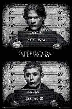 Supernatural - Mug Shots Poster