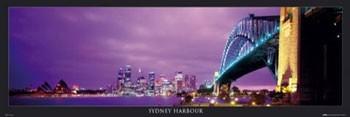 Poster Sydney harbour