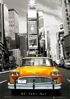 Póster 3D Taxi no.1